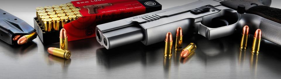 Groot kaliber pistool