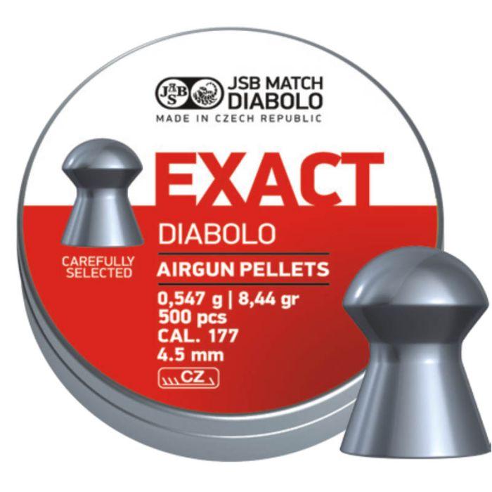 JSB Exact Diabolo 4,5mm 0.547Gr.