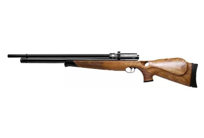 Air Arms S510 Thumbhle Walnoot Multi Shot Extra FAC S/L 5,5 mm