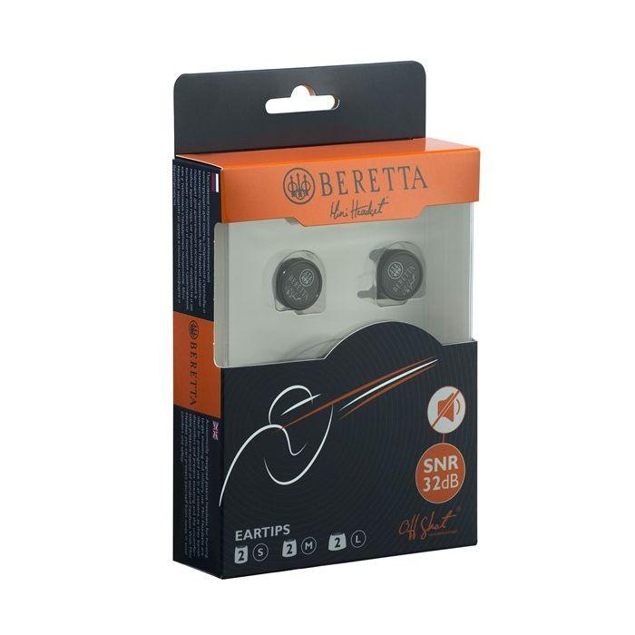 Beretta gehoorbescherming earphones mini headset passief, verpakking