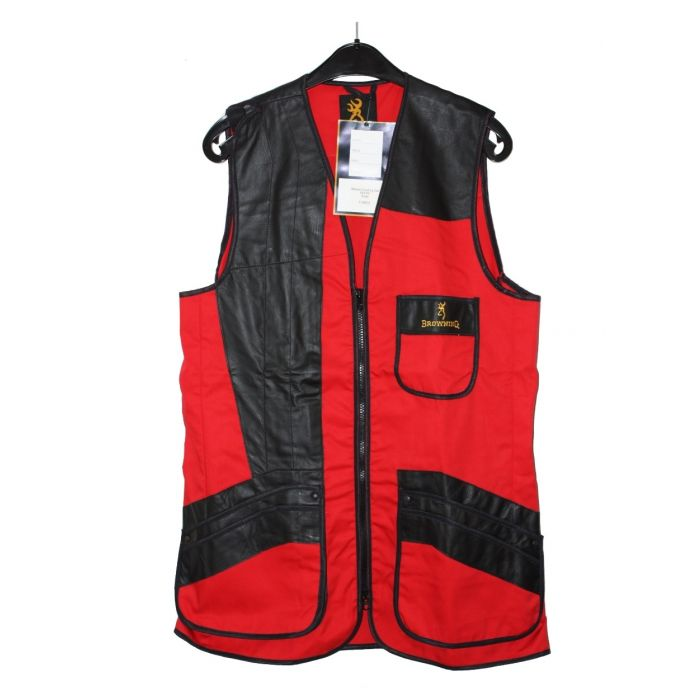 Browning Masters Sporting Schietvest Rood S (Nieuw)