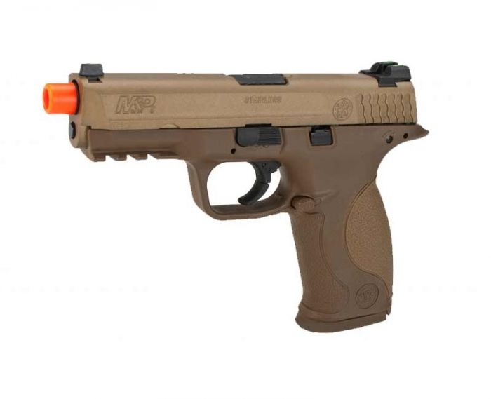 Cybergun S&W M&P9 Dark Earth Airsoft 6 mm BB