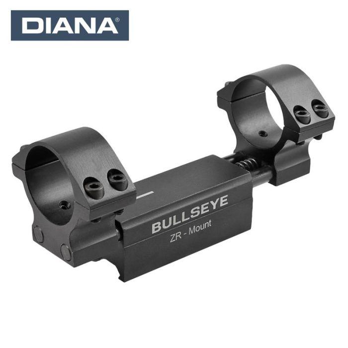 Diana Bullseye ZR Montage High, 30mm Ø Weaver / Picatinny #41200510