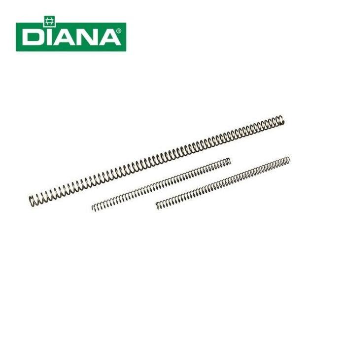 Diana Driedelig Hoofdveren Set Model 72/6/6G/6M/10 #30130800