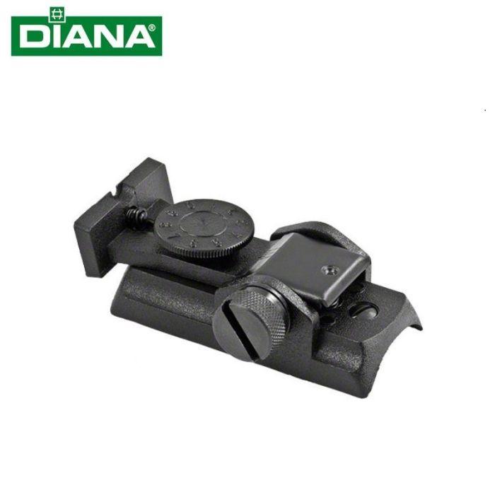 Diana Micrometer Vizier Compleet voor Luchtdrukpistool Model P5/P6 #30134500