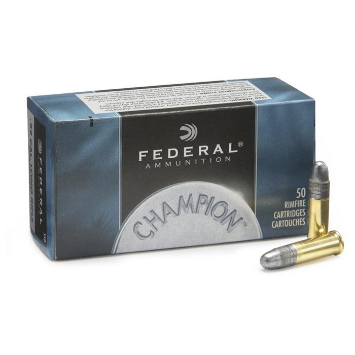 Federal Champion #510 .22 LR. High Velocity 40 Grain Lead Round Nose