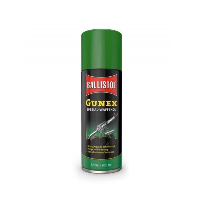 Ballistol Gunex Speciaal Wapenolie, Spuitbus 200 ml. #22200