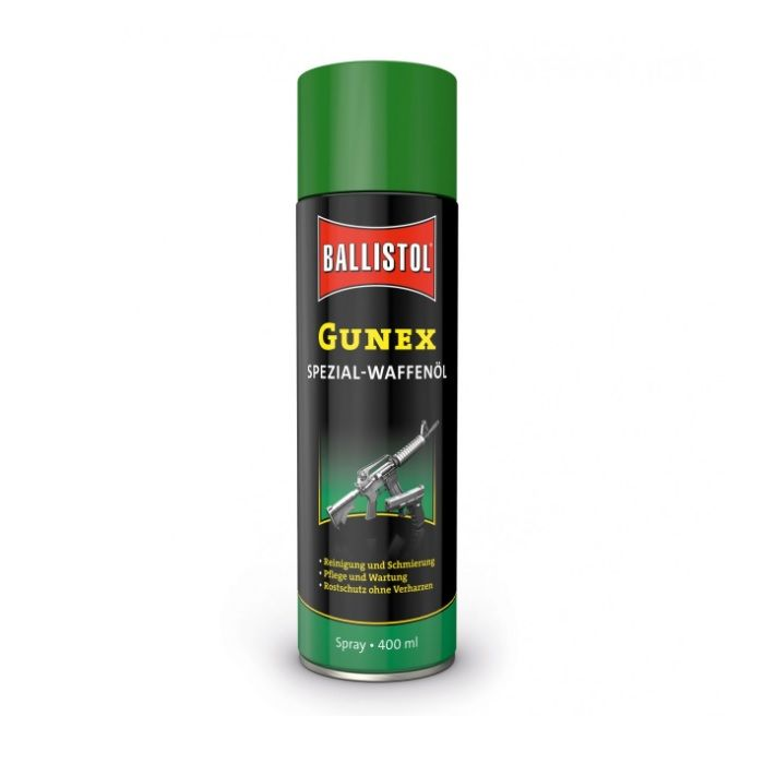 Ballistol Gunex Speciaal Wapenolie, Spuitbus 400 ml. #22250