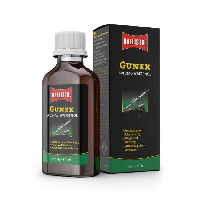 Ballistol Gunex Speciaal Wapenolie, Flesje 50 ml.