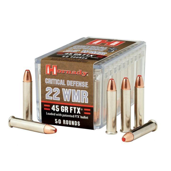 Hornady Critical Defense .22 WMR 45 Grains FTX