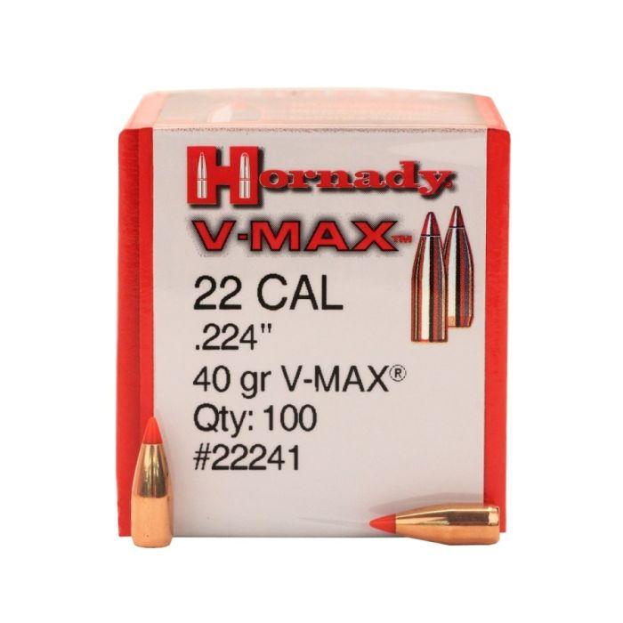 Hornady V-Max .22 Kaliber (.224) 40 GR. #22241