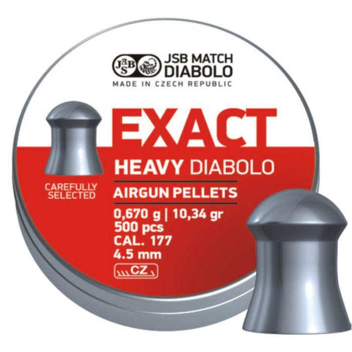 JSB Exact Heavy Diabolo 4.5mm