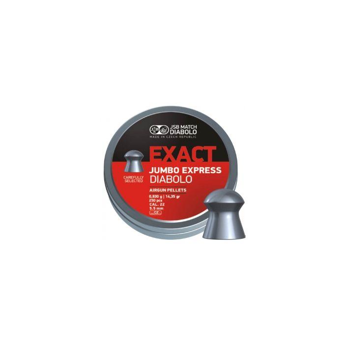 JSB Exact Jumbo Express Diabolo 5,5mm 14.35 Gr