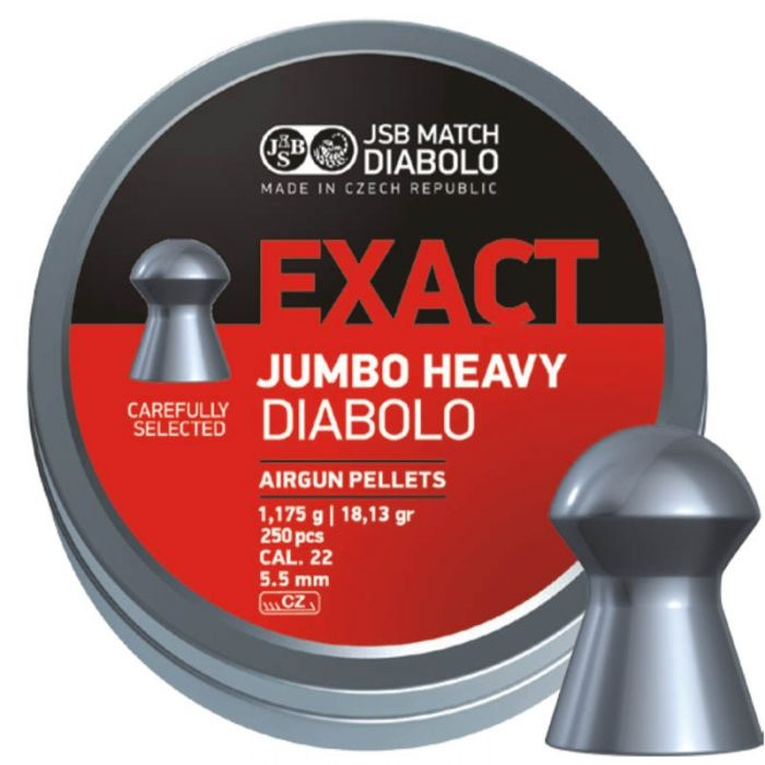 JSB Exact Jumbo Heavy Diabolo 5,5mm