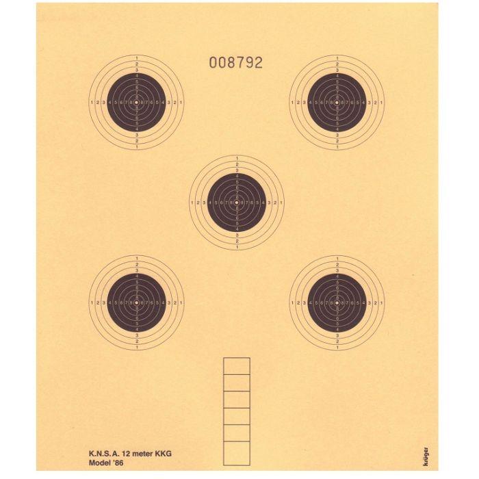 Kruger Schietschijf KKG 12mtr. Model 1986