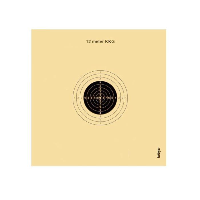 Kruger Schietschijf KKG 12mtr. 10x10 cm, Ongenummerd #2004