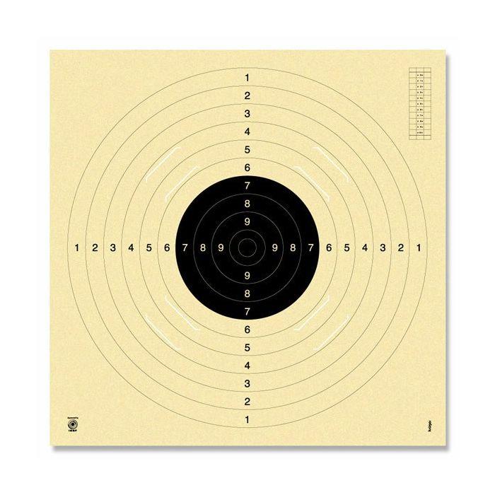 Kruger Schietschijf Vrij-/Sportpistool / 100 mtr. KKG #3100S (Moederkaart)