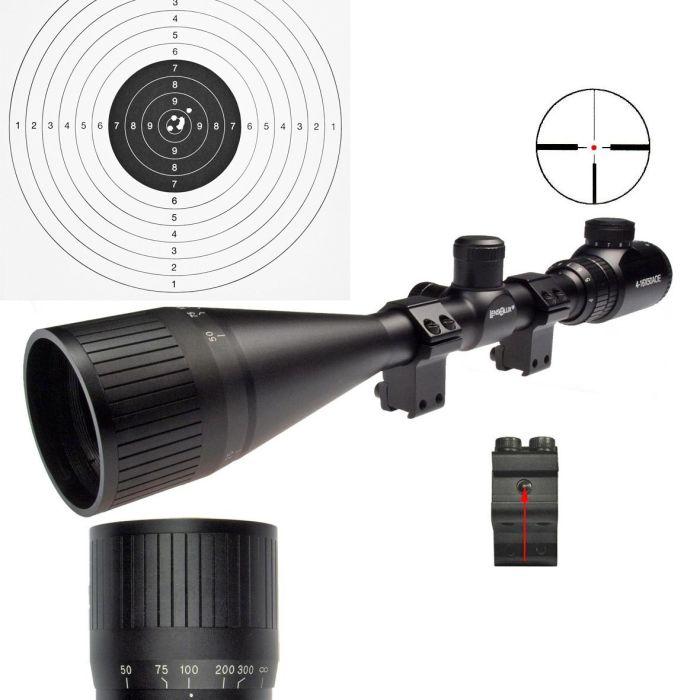 Lensolux Richtkijker 4-16x50 AOE, Red Dot