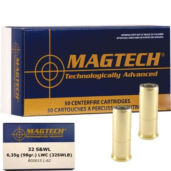 Magtech .32 S&W LWC
