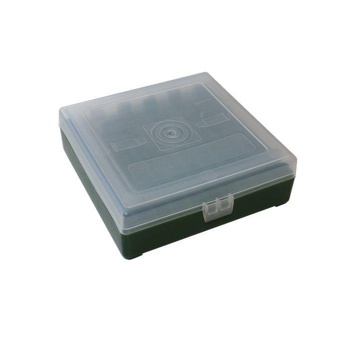 Megaline Ammo Box 550/1000 9 mm Para (100 patronen)