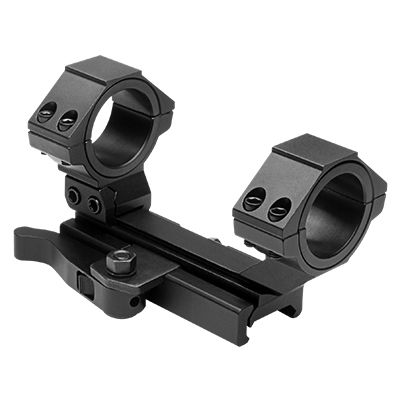 NcSTAR AR15 Adjustable Scope Mount QR 30mm /1 inch #MARCQ