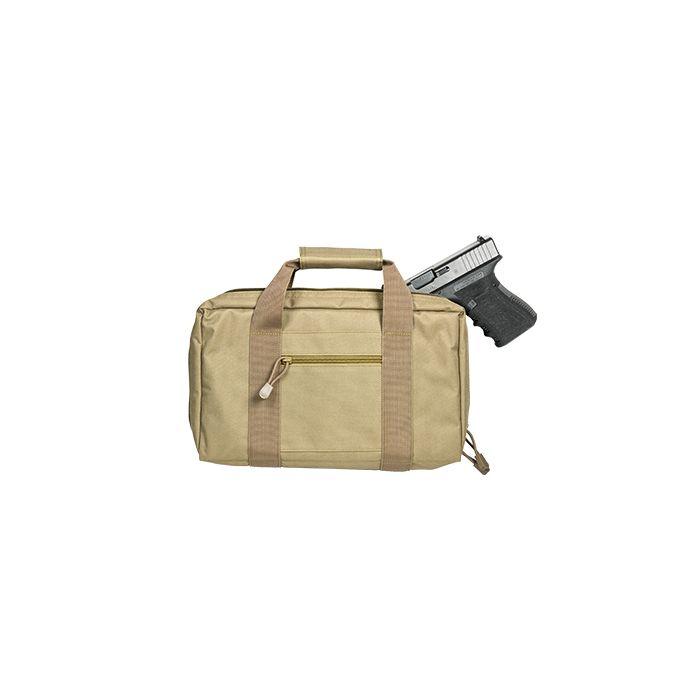 NcStar VISM Double Pistol Case Tan #CPT2903