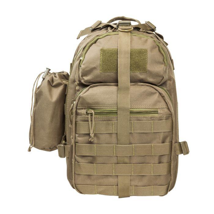 NcSTAR Vism Sling Backpack Tan #CBMST2959