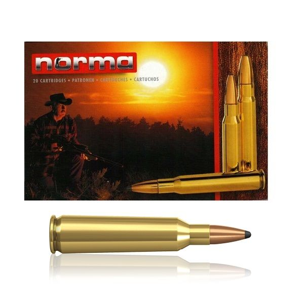 Norma .22-250 Rem. Soft Point 53 Gr.