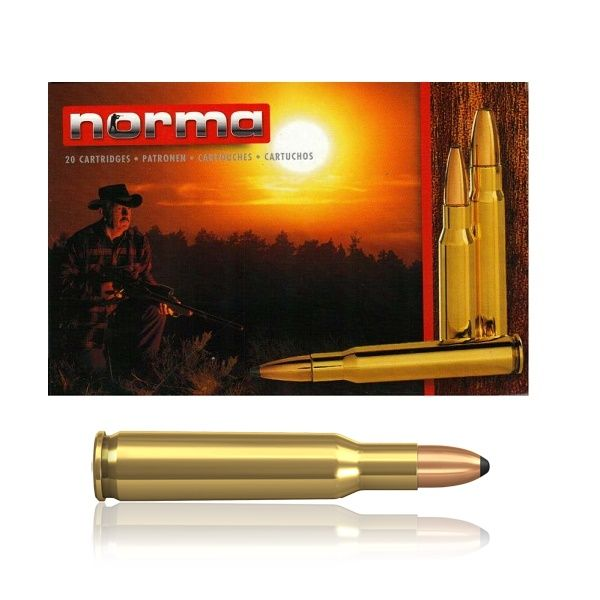Norma .222 Rem. Soft Point 50 Gr.