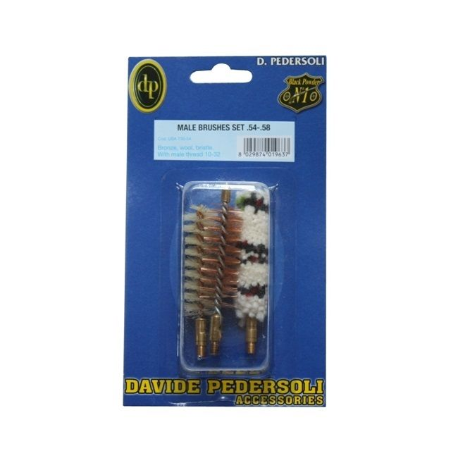 Pedersoli Cleaning Brushes Male Set .54 /.58 #USA 730-54