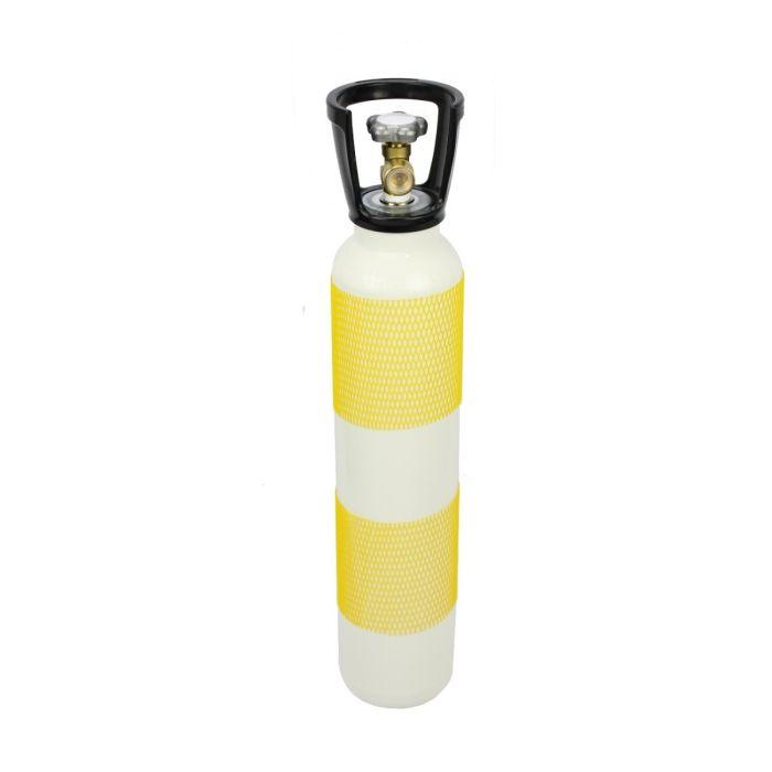Perslucht cilinder 7 liter 300 bar standaard kraan / Din aansluiting