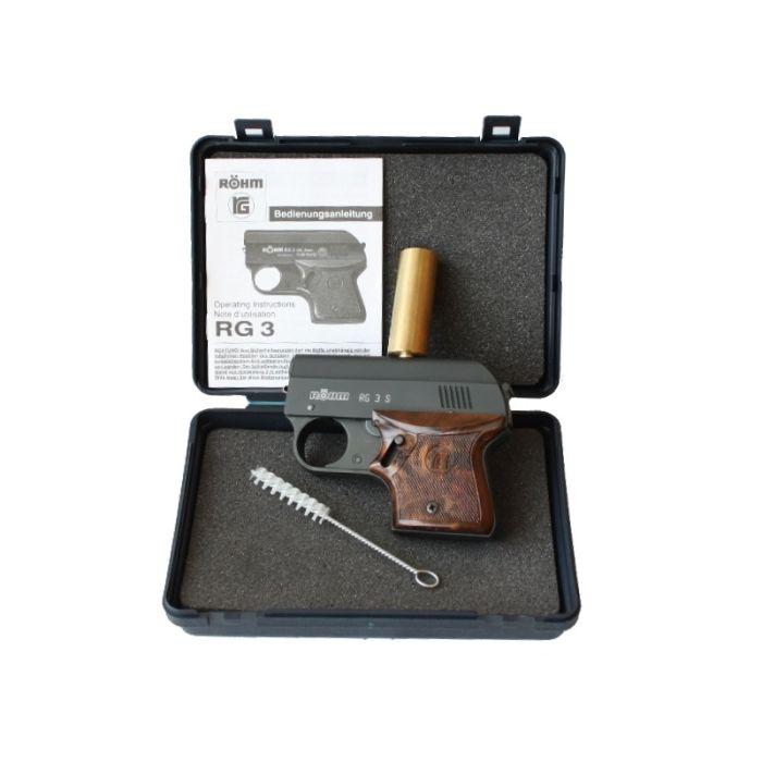 Rhom vogelafweerpistool kaliber 6mm / 15 mm n kunststof opbergdoos