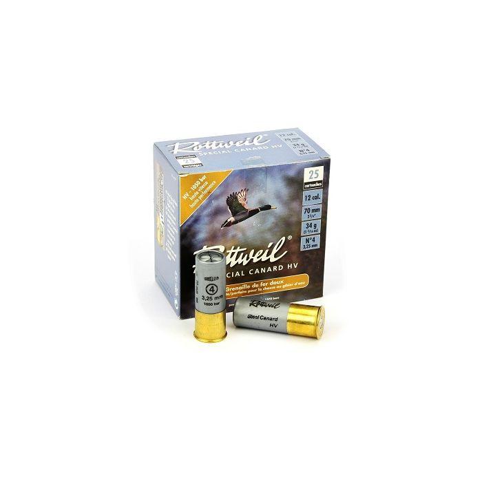 Rottweil Special Canard HV 34 Gram Nr.4 Soft Steel Kal.12