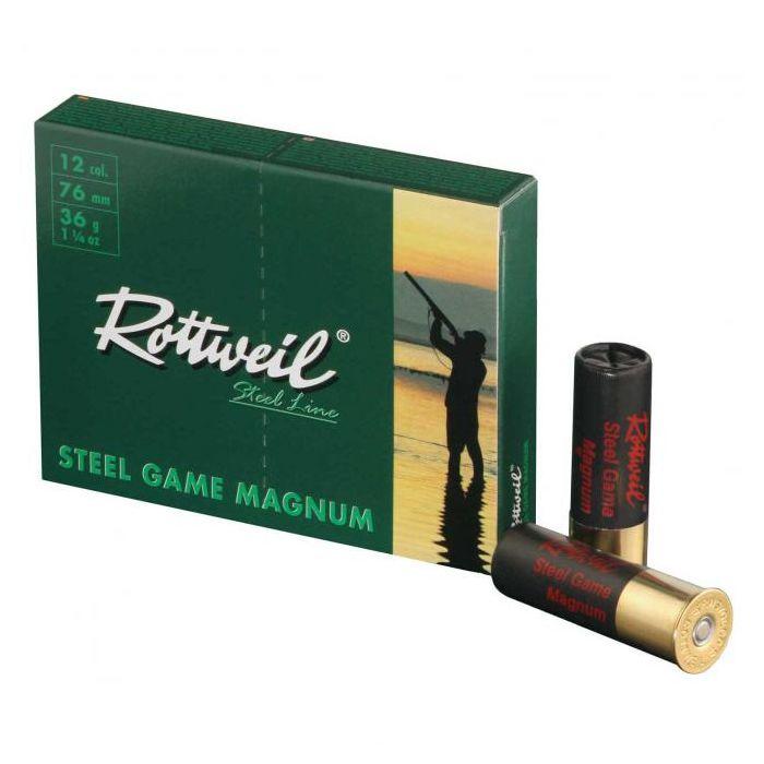 Rottweil Steel Game Magnum 36 Gram Nr.4 Kal.12/76