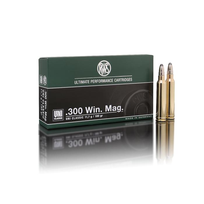 RWS 300 Win Mag. Uni Classic 180 Gr.