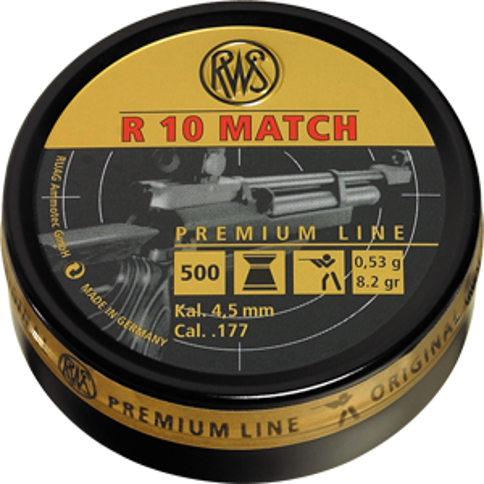 RWS R10 Match 4,51mm