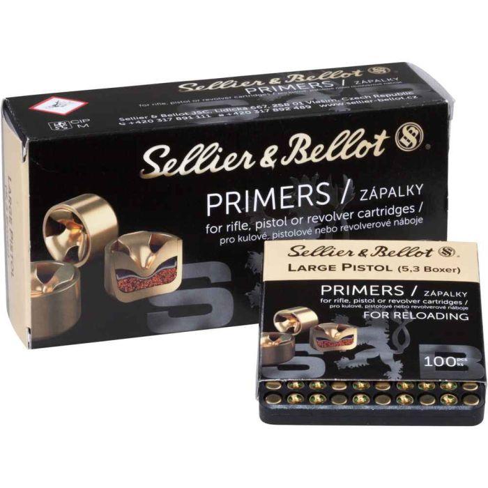 Sellier & Bellot Large Pistol slaghoedjes