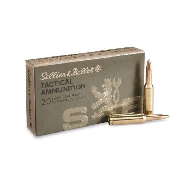 Sellier & Bellot Tactical 6,5 Creedmoor FMJBT 140 Gr. 20 Stuks
