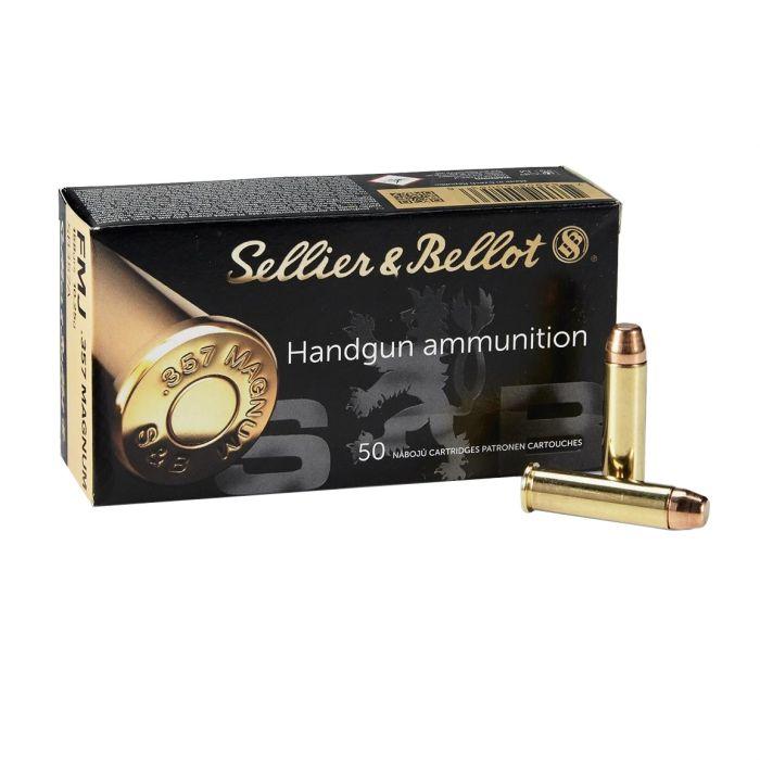 Sellier & Bellot .357 Magnum FMJ 158 Gr.