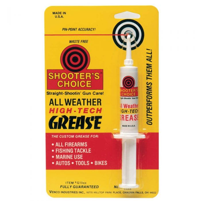 Shooter's Choice All Weather High-Tech Gun Grease