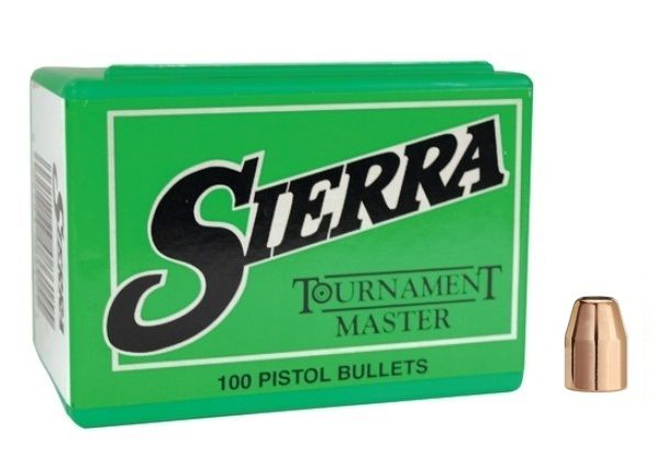 Sierra Tournament Master 10 mm Cal (.400) 190 GR. FPJ #8480