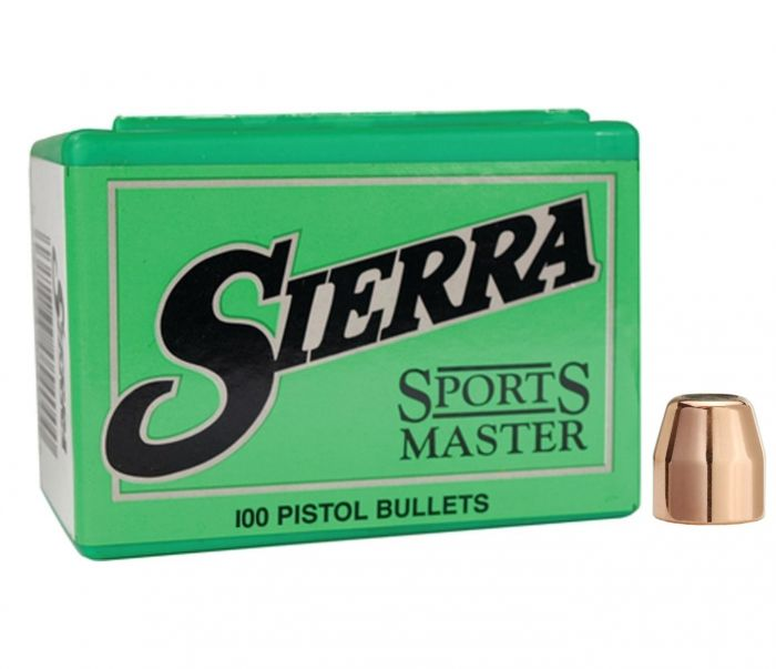 Sierra Tournament Master .45 Cal (.4515) 185 GR. FPJ Match #8810