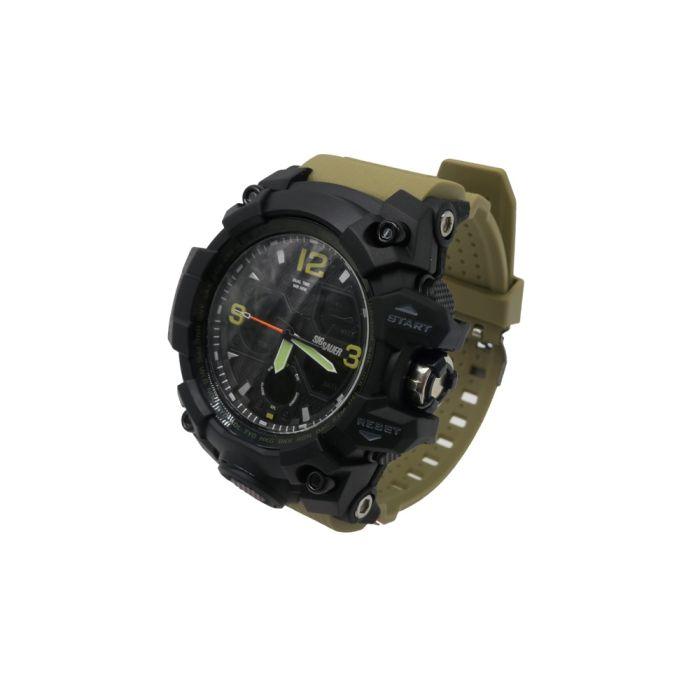 Sig Sauer TAC Chrono Watch, Zwart met FDE Band