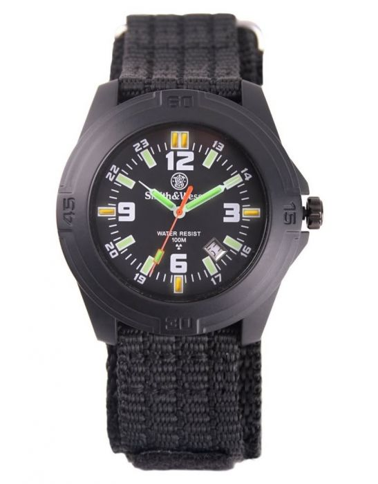 Smith & Wesson Soldier Tritium Horloge met Nylon Polsband