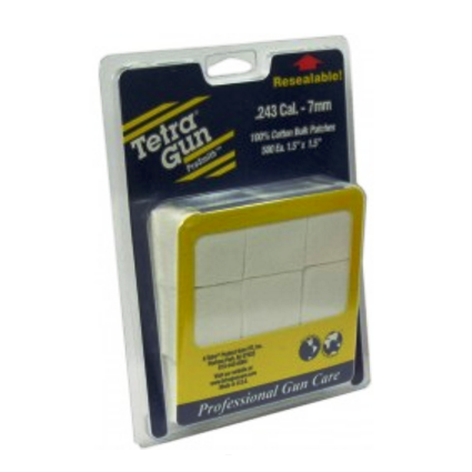 Tetra Gun ProSmith Cleaning Patches .243-7 mm