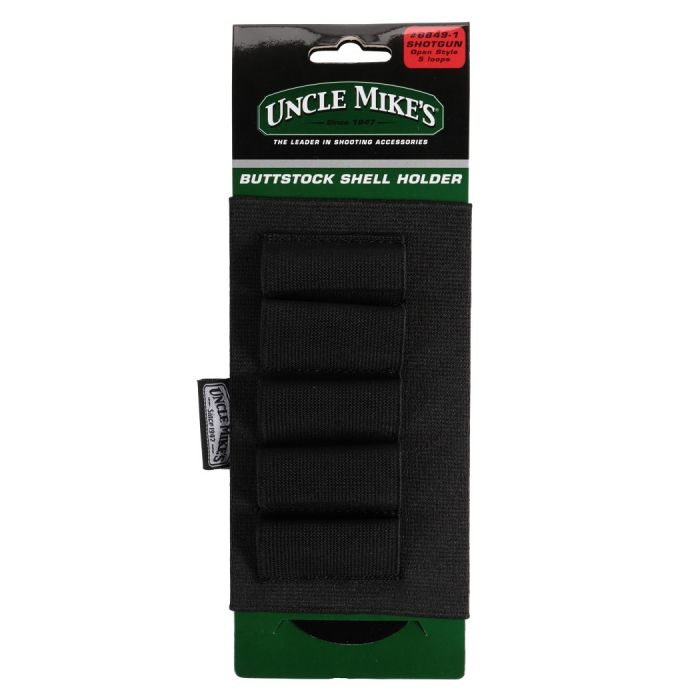 Uncle Mike's Buttstock Shell Holder #8849-1