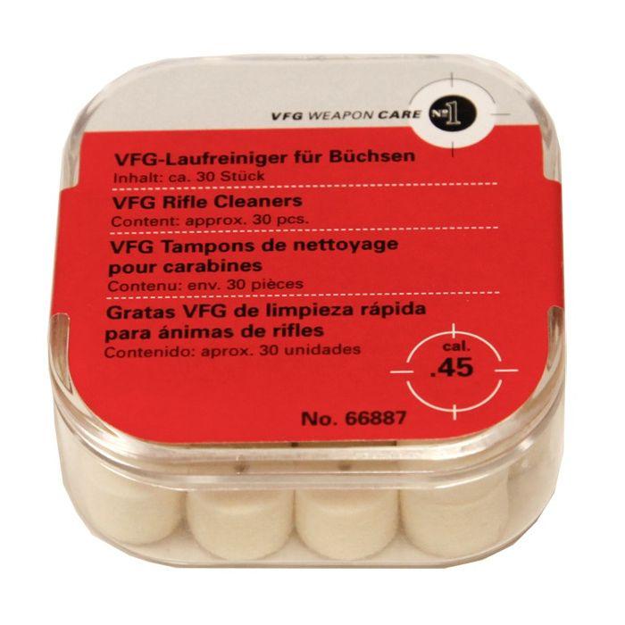 VFG Loop Reinigings Viltjes .45 / 10,9mm (30stuks)