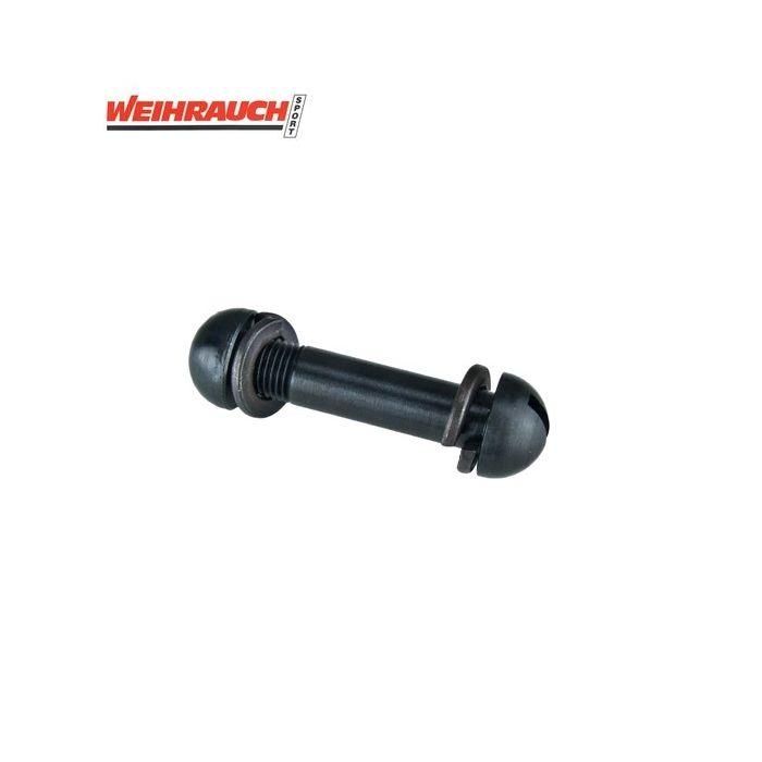 Weihrauch HW30 Scharnierbout Compleet met Moer en Veerringen