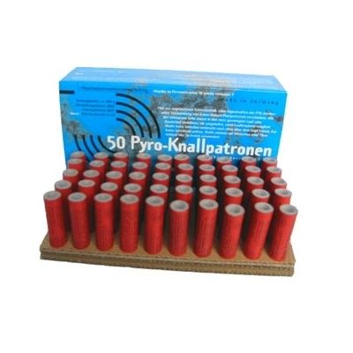 Zink Feuerwerk Pyro Knallpatronen 15mm