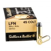 Sellier & Bellot .45 Colt 250 Grain